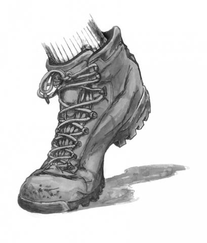 boot illustration