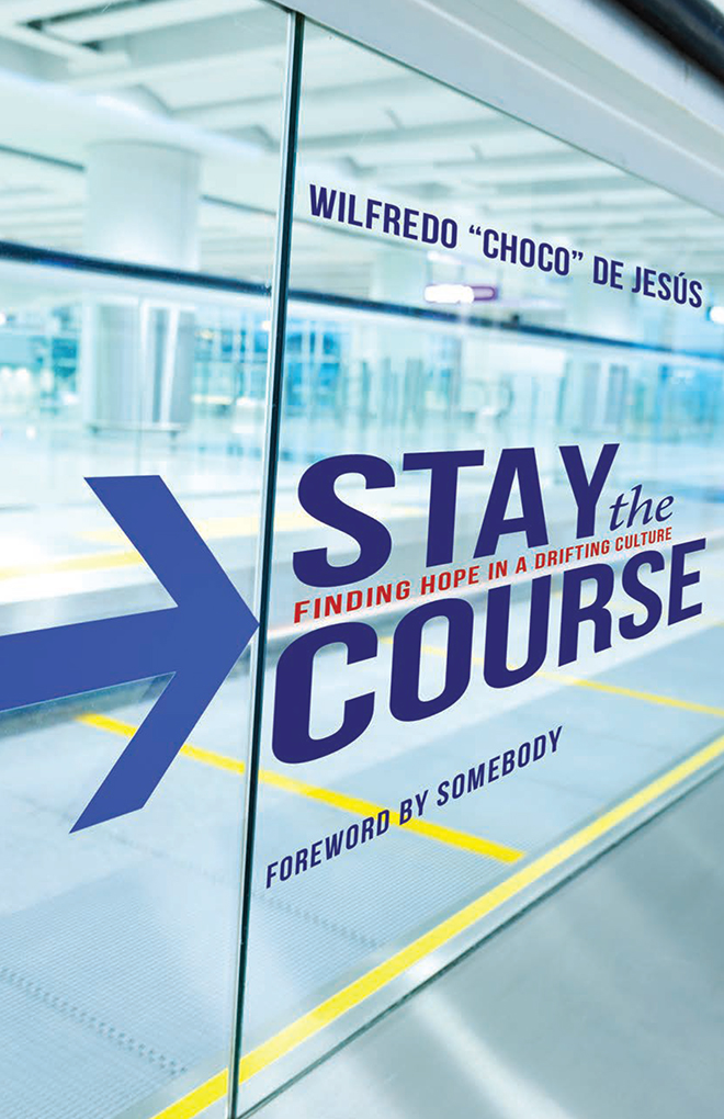 Stay the Course (concept cover)